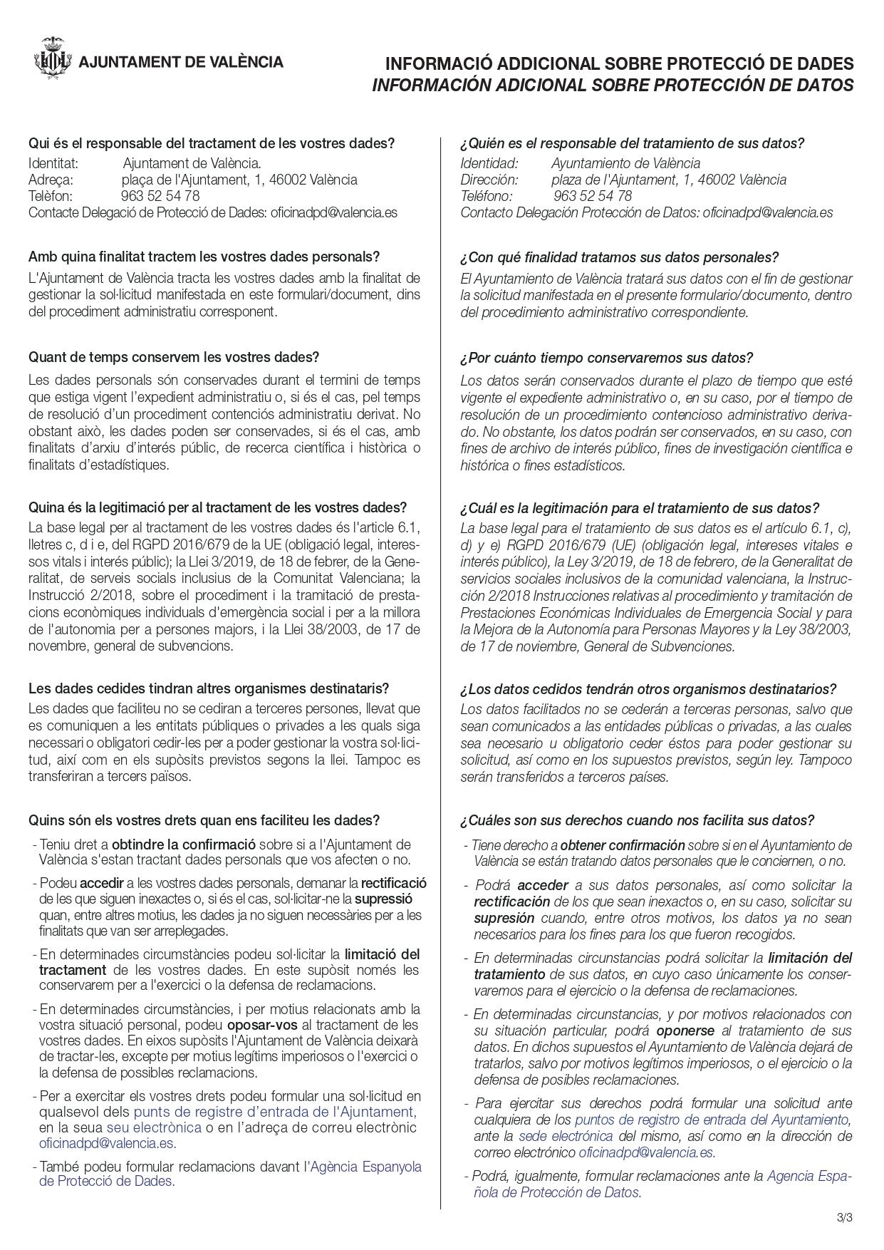 Cédula de Habitabilidad en Valencia