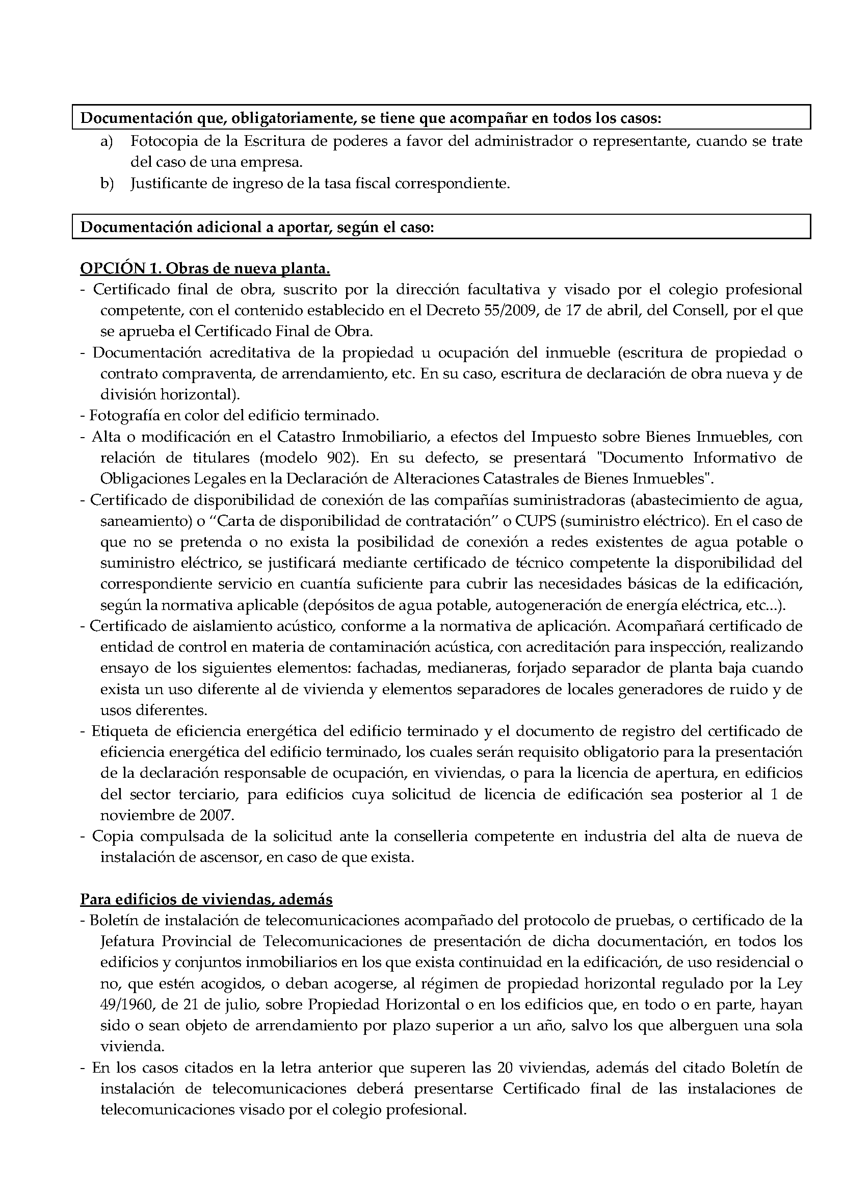 Impreso Declaración Responsable Segunda Ocupación Aspe