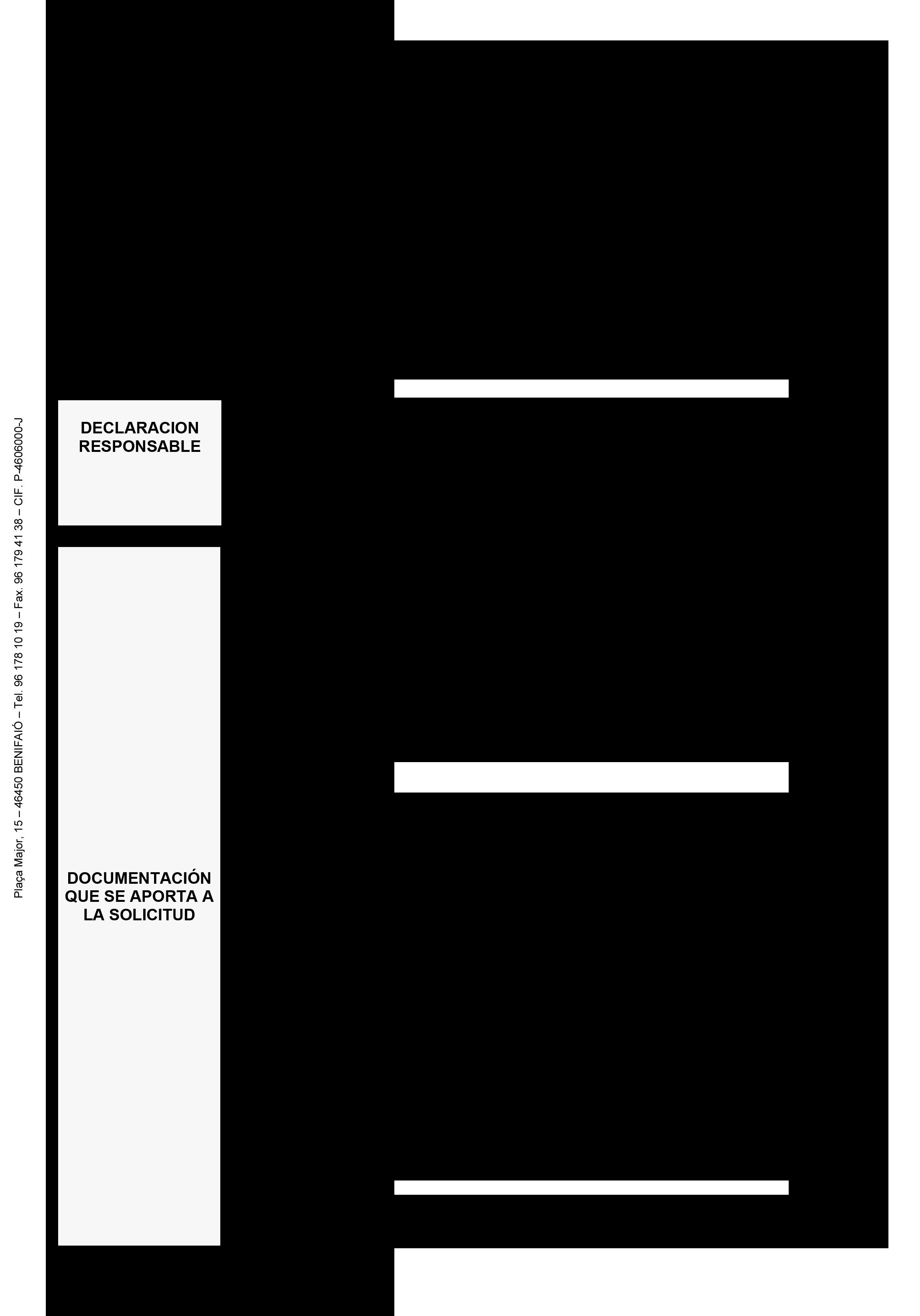 Impreso Declaración Responsable Segunda Ocupación - Benifaió 2