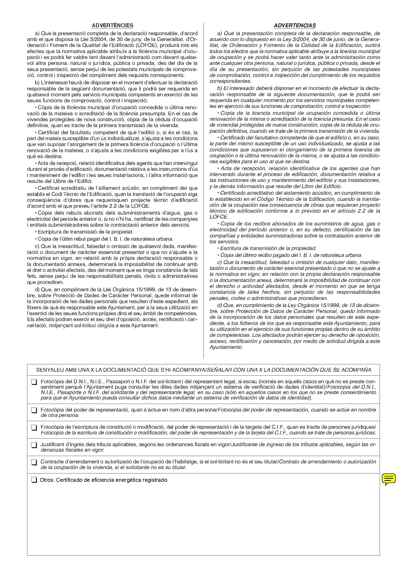 Impreso Declaración Responsable Segunda Ocupación Cheste_Página_2