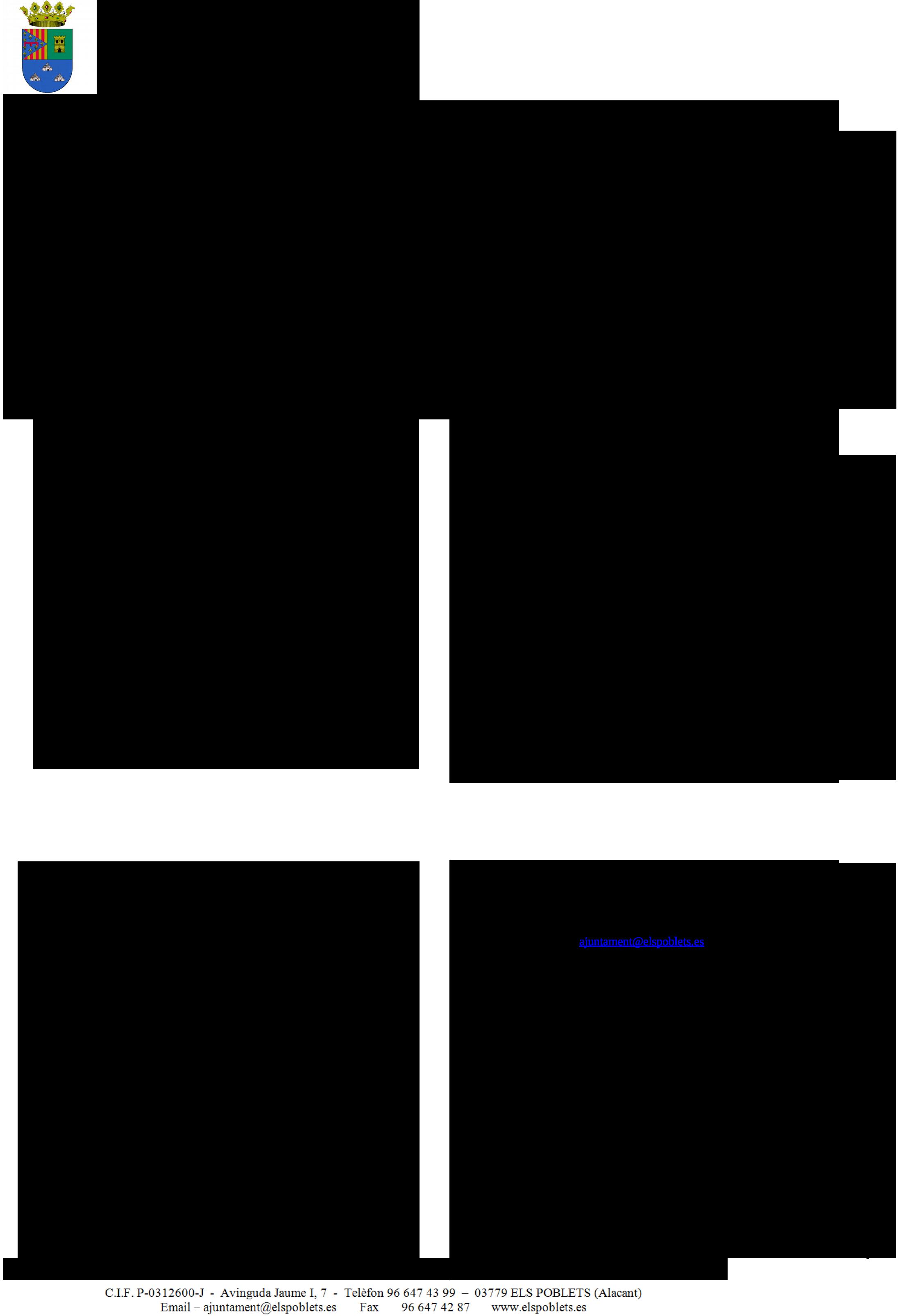 Impreso Declaración Responsable Segunda Ocupación - Els Poblets-2