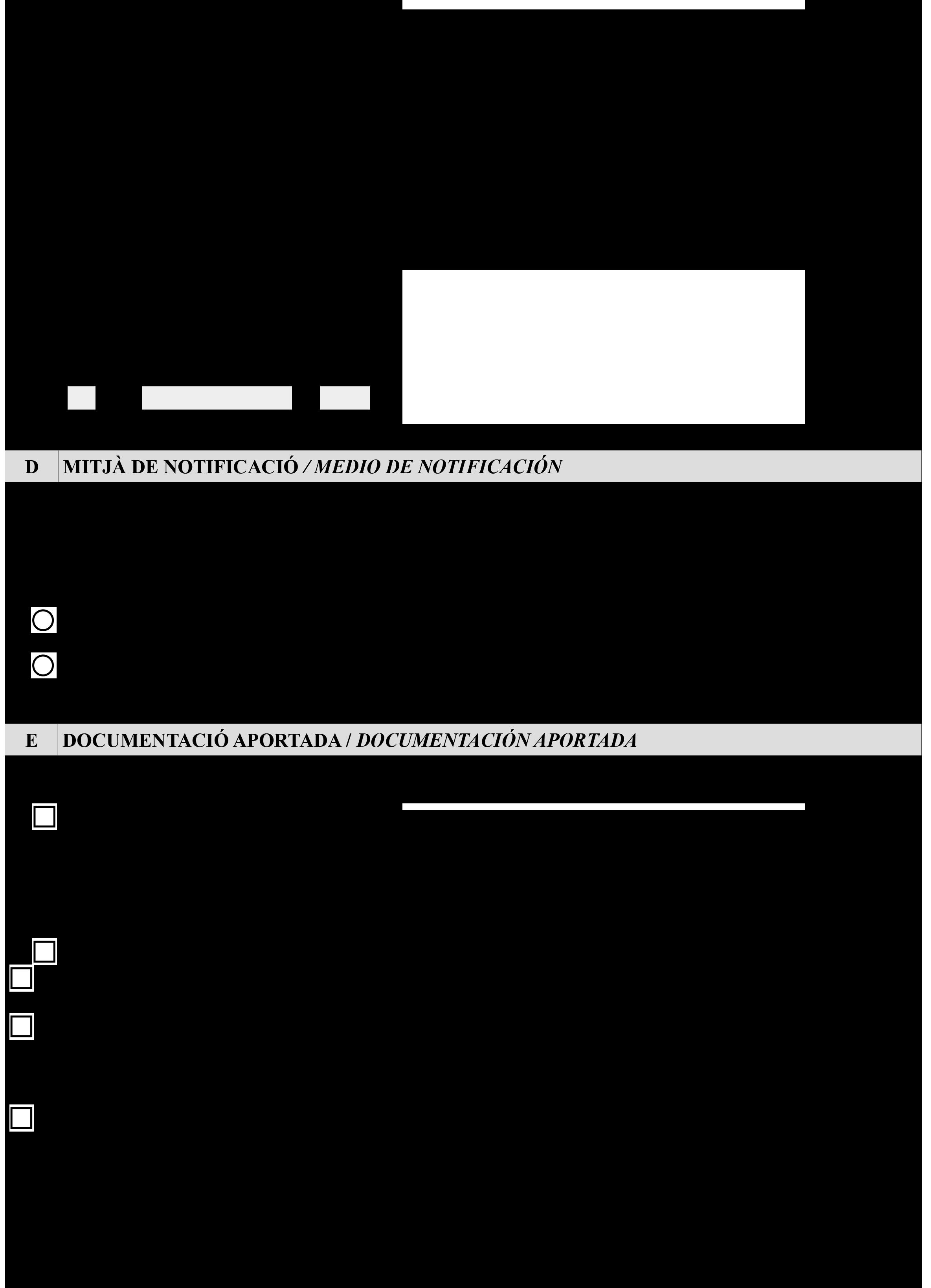 Impreso Declaración Responsable Segunda Ocupación - Llíria-2