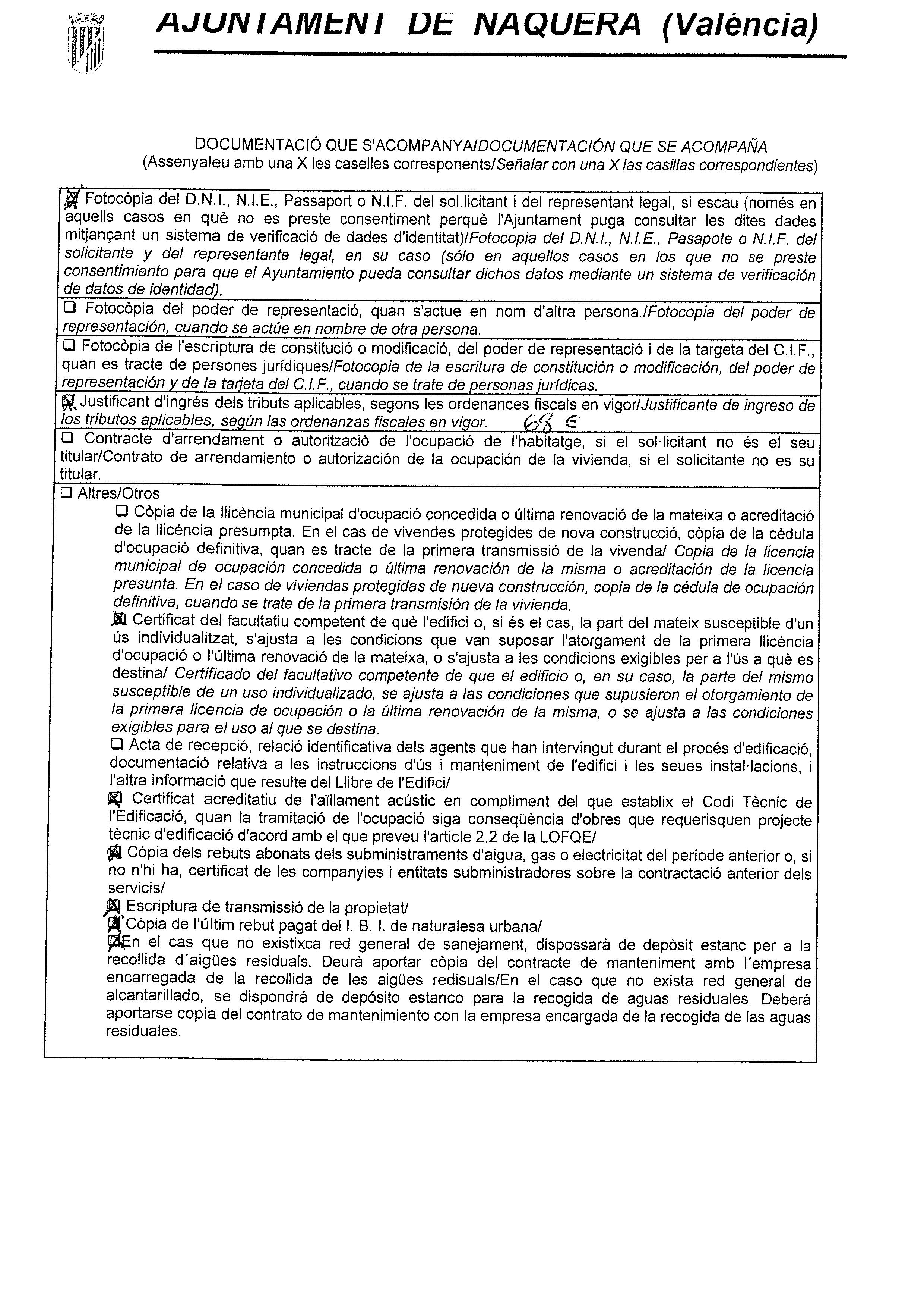 Impreso Declaración Responsable Segunda Ocupación - Náquera-3