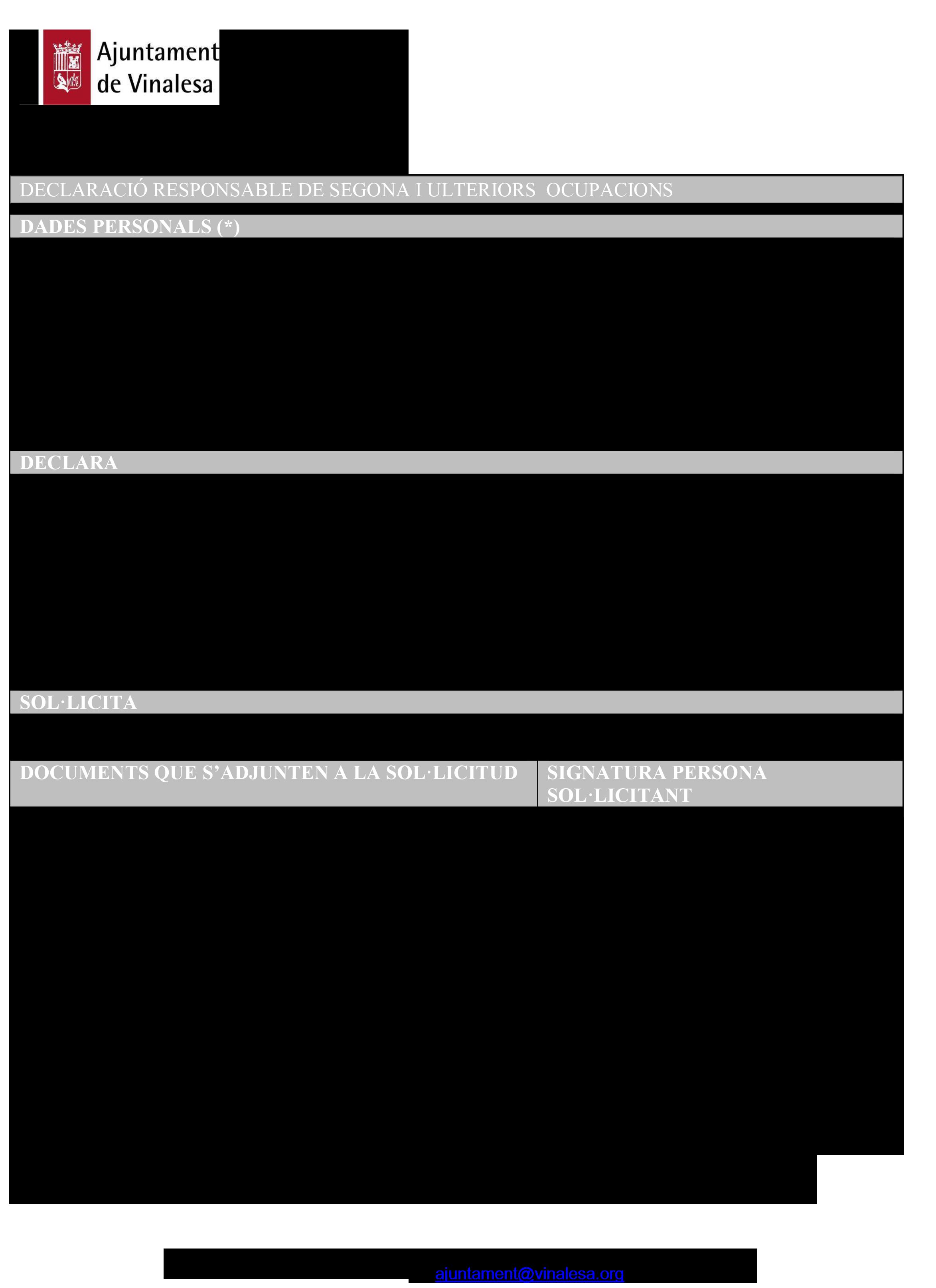 Impreso Declaración Responsable Segunda Ocupación - Vinalesa-1