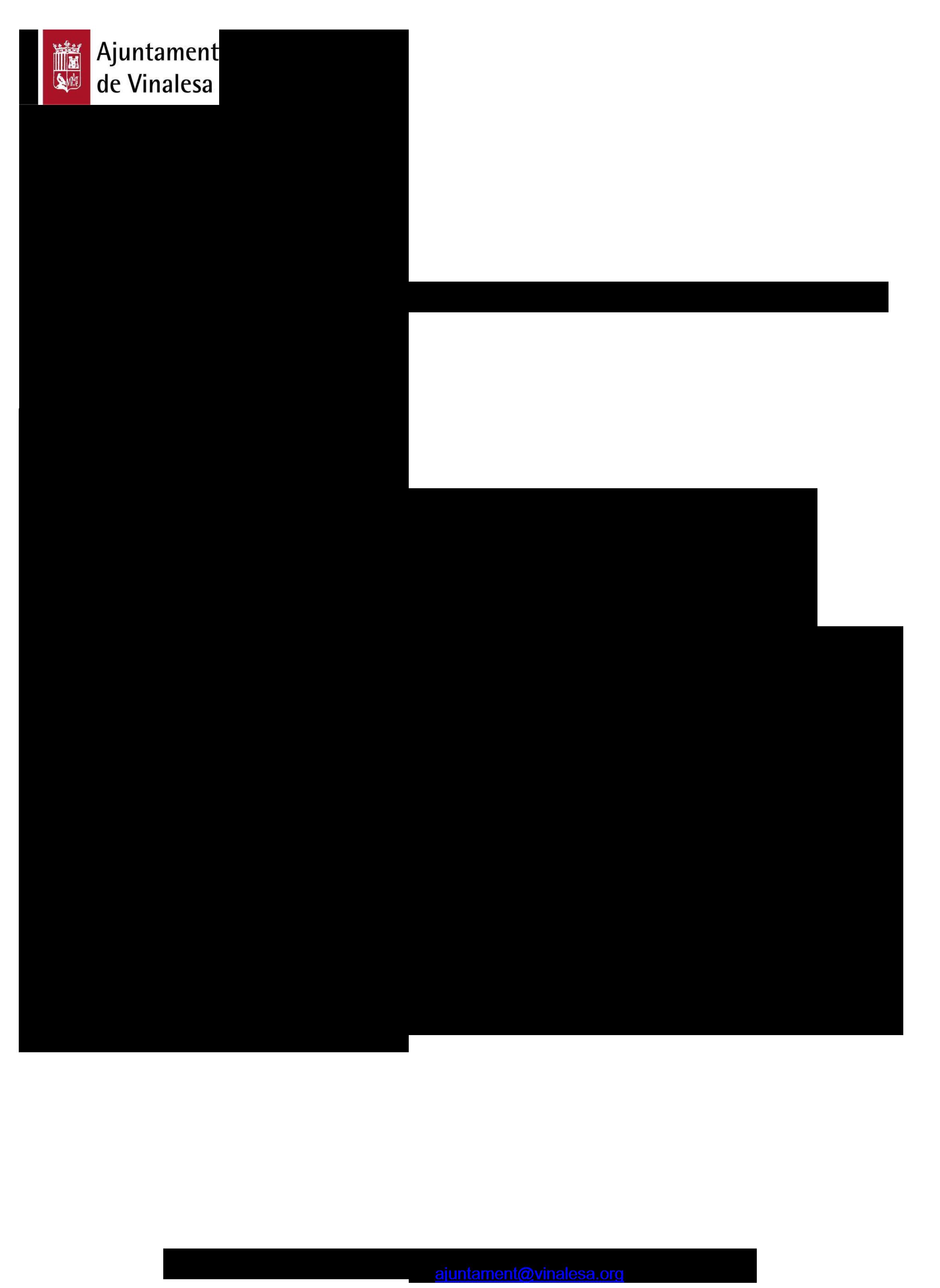 Impreso Declaración Responsable Segunda Ocupación - Vinalesa-2