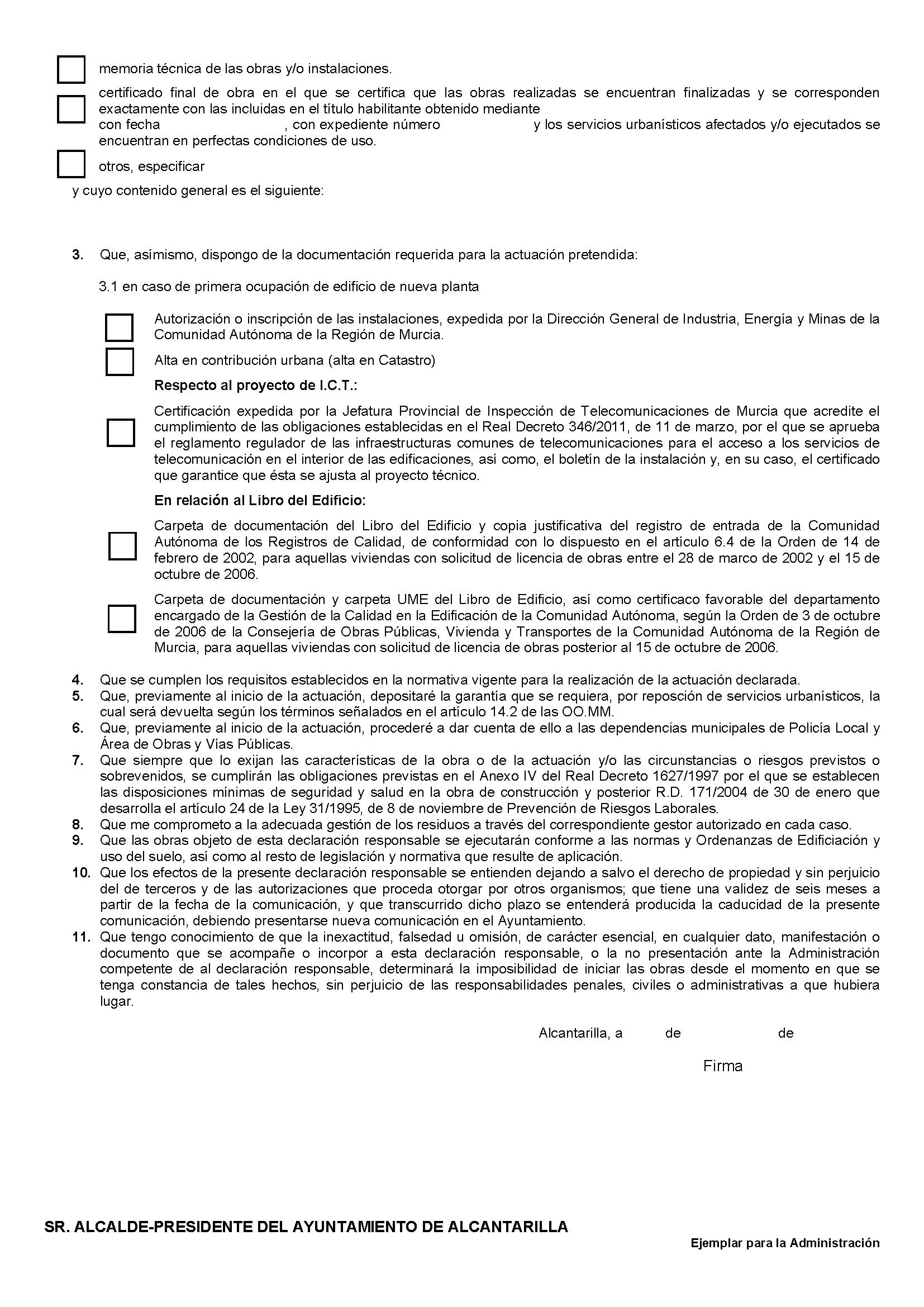 Impreso Declaración Responsable Segunda Ocupacion Alcantarilla_Página_2