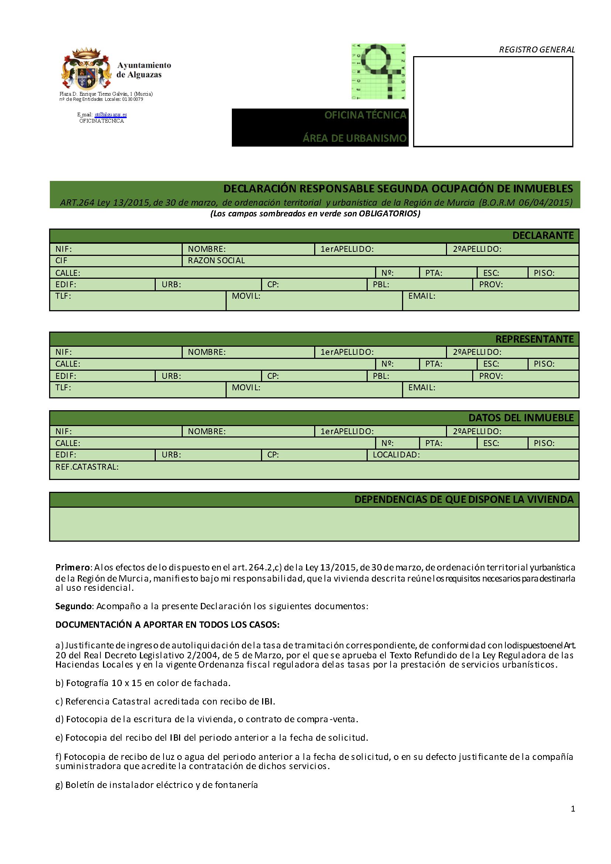 Impreso Declaración Responsable Segunda Ocupacion Alguazas_Página_1