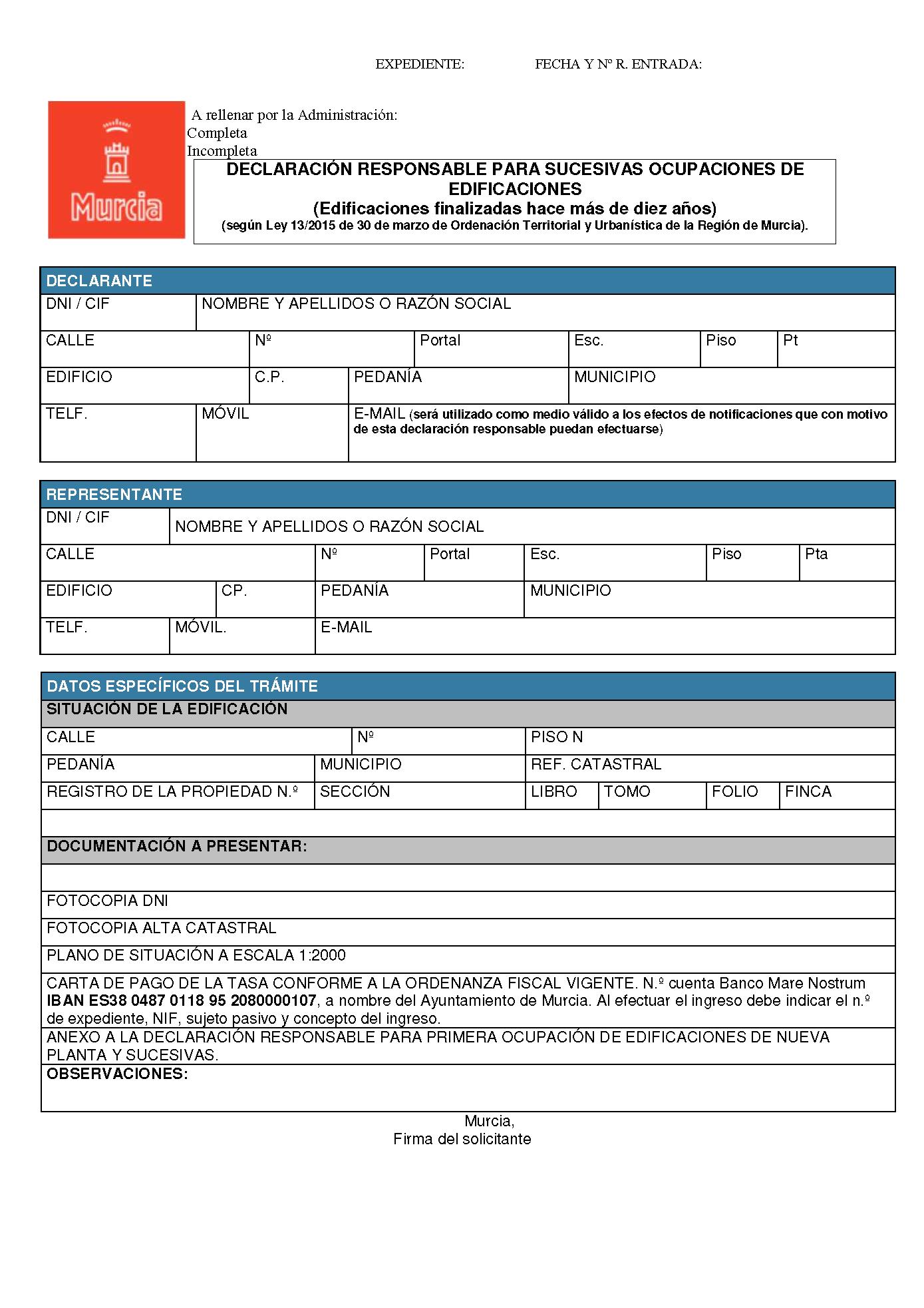 Impreso Declaración Responsable Segunda Ocupacion Murcia_Página_1