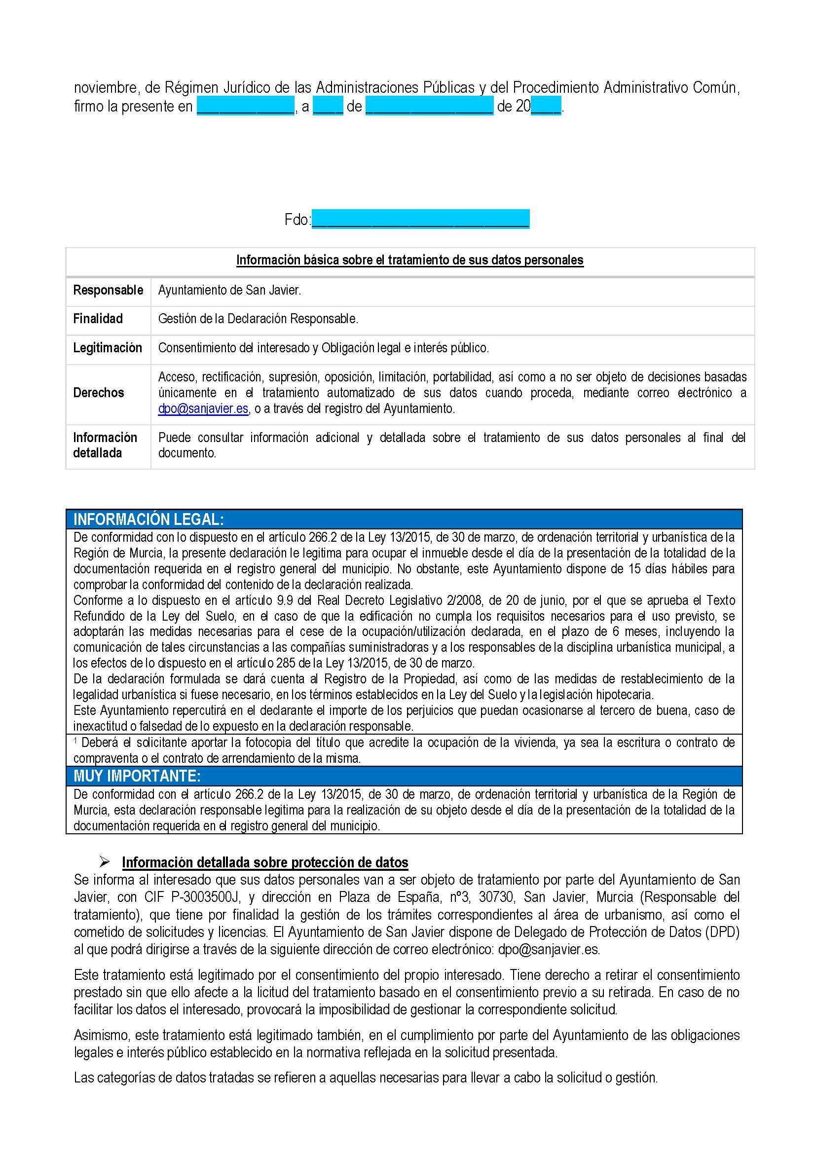 Impreso Declaración Responsable Segunda Ocupacion San Javier_Página_2